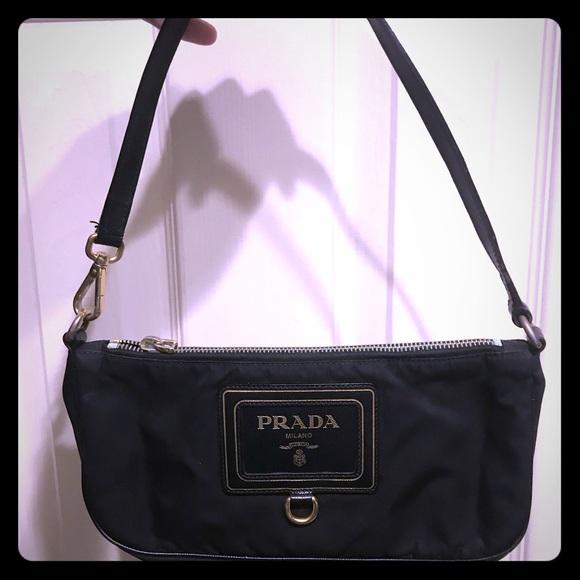 b6db09a6c02c Prada Bags   Authentic Small Shoulder Canvas Bag   Poshmark